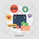 Shopping Marketing Concept Icon