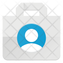 Shopping Action Paper Icon