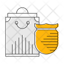Shopping Protection Logistics Icon