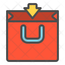 Shopping Pack Bag Icon