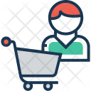 Shopping Trolley Cart Icon