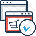 Shopping Online Trolley Icon