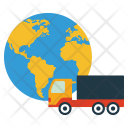 Worldwide Delivery World Icon