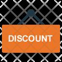 Discount Notice Board Icon