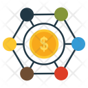 Money Network Dollar Icon