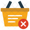 Basket Cart Remove Icon