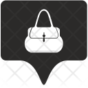 Woman Bag Tag Icon