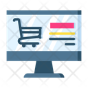 Online Shopping Shopping Shopping Cart Icon
