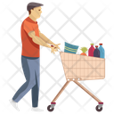 Shopping Grocery Kids Shopping Icon