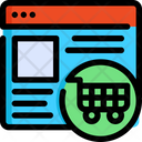 Shopping Seo Web Icon