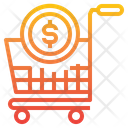 Cart Money Payment Icon