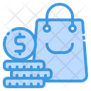 Bag Coin Money Icon