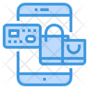 Shopping Smartphone Application Icon
