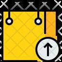 Shopping Bag Arrow Icon