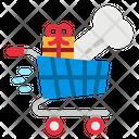 Cart Supermarket Smart Icon