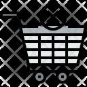 Shopping Cart X Icon