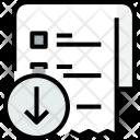 Shopping List Arrow Icon