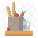 Ingredients Shopping Food Icon