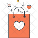 Shopping Love Retail Icon