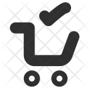 Shopping Cart Done Icon