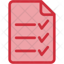 Shopping List Stack Icon