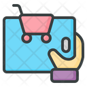 Shopping Online Shopping Tablet Icon