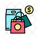 Shopping Shop Dollar Icon