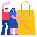 Shopping Sale Promotion Icon
