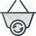 Shopping Action Basket Icon
