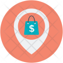 Shopping Store Place Icon