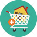 Shopping Cart Apartment Icon