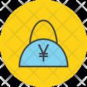 Shopping Bag Cash Icon