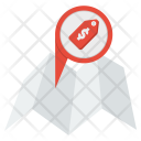 Shopping Map Sale Icon