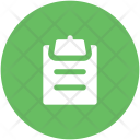 Shopping List Record Icon