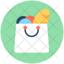 Shopping Bag Grocery Icon
