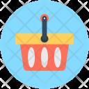 Shopping Basket Supermarket Icon