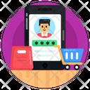 Mcommerce Shopping Account Password Account Password Icon