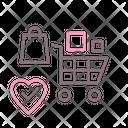 Shopping Addiction Icon