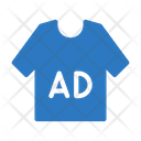 Ads Shirt Marketing Icon