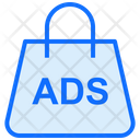 Shopping Advertising Shopping Bag Icon