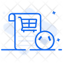 Shopping Commitment Shopping Deal Shopping Contract Icon