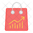 Shopping Analytics Ecommerce Forecast Icon