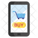 Mcommerce Mobile Shopping Online Shopping Icon