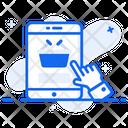 Online Shopping Eshopping Ecommerce Icon