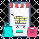 Shopping App Buying App Ecommerce Icon