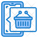 Shopping App Basket Online Shopping Icon