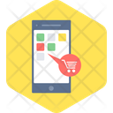 Shopping App Mobile Shopping Online Shopping Icon