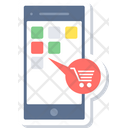 Shopping App Online Shopping Mobile Shopping Icon