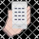 Shopping Application Contact Call Icon