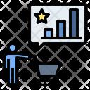 Shopping Experience Customer Behavior Expectation Icon